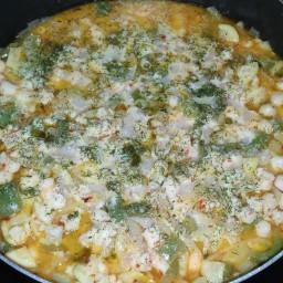 Scallop and Zucchini Scampi
