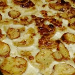 Scalloped Potatoes with Gorgonzola