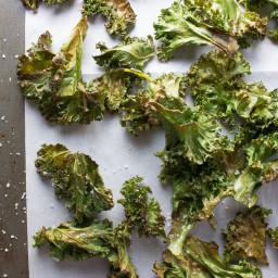 SEA SALT and VINEGAR KALE CHIPS