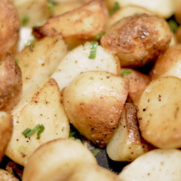 Sea Salt and Vinegar Potatoes