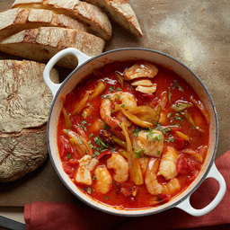 Seafood, Chorizo and Vegetable Stew
