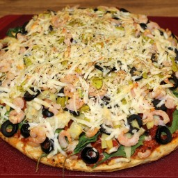 Seafood-N-EatIt Pizza