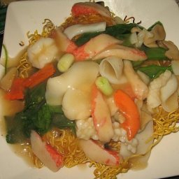 Seafood Pan-Fried Noodles