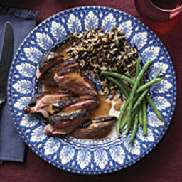Sear-Roasted Duck Breasts with Grapefruit-Balsamic Sauce