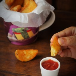 Seasoned Potato Wedges Recipe