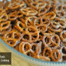 Seasoned Ranch Pretzels