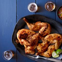Serrano Chile-Rubbed Roast Chicken