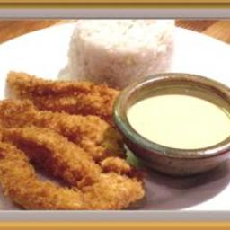 Sesame Chicken with Honey Dip