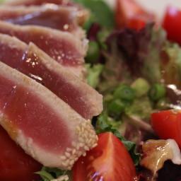 Sesame-Crusted Ahi Salad