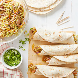 Sesame-Ginger Turkey Wraps