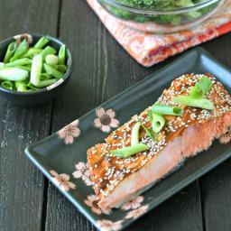 Sesame Hoisin Baked Salmon
