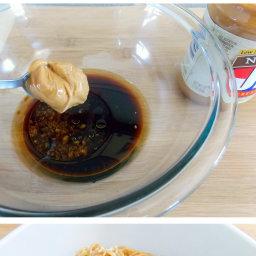 Sesame Peanut Butter Noodles Recipe