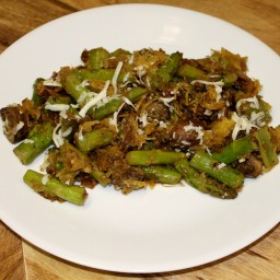 Sesame Saute - Asparagus, Mushrooms, and Celery