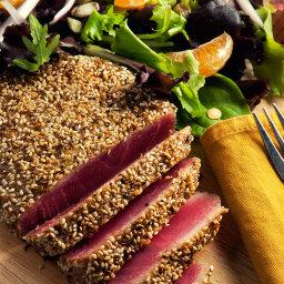 Sesame Spiced Tuna Recipe