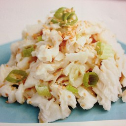 SESAME WHITE FISH SALAD (primal blueprint m. sisson)
