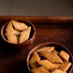 shankarpali recipe - makes 1 small jar