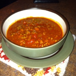 Sheila's Slow Cooker Chili