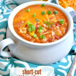 Short-Cut Mexican Chicken and Rice Soup