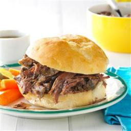 Shredded Beef au Jus Recipe