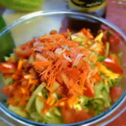 Shredded Zucchini Salad