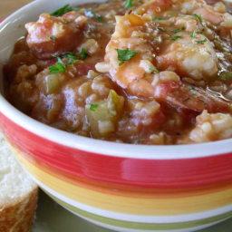 Shrimp and Andouille Sausage Jambalaya