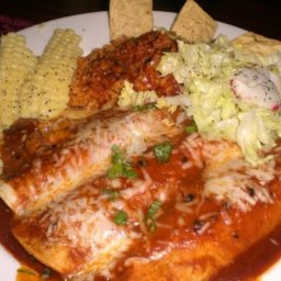 Shrimp and Crab Enchiladas