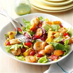 Shrimp and Nectarine Salad Recipe