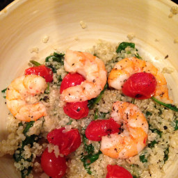 Shrimp and Quinoa