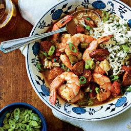 Shrimp-and-Sausage Gumbo