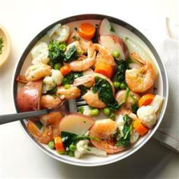 Shrimp and Vegetable Boil Recipe