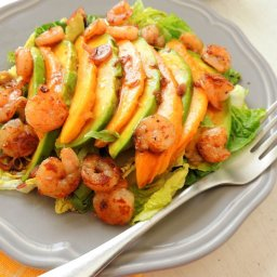 Shrimp, Avocado And Mango Salad
