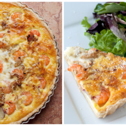 Shrimp & Bacon Quiche