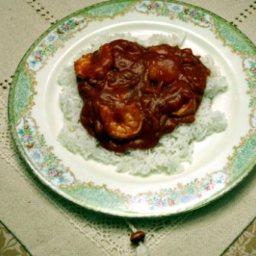 Shrimp Etouffee the easy way