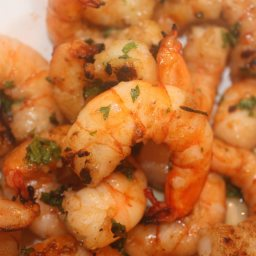 Shrimp: Lemon Garlic Brined