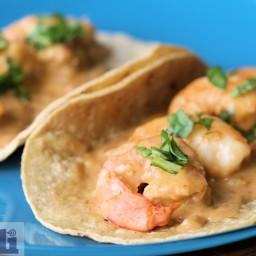 Shrimp tacos (Molli Mexico City)