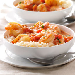 Shrimp with Tomatoes and Feta Recipe