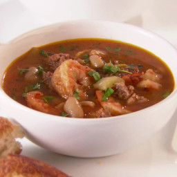 Shrimp and Sausage Cioppino
