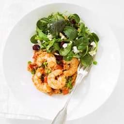 Shrimp, Ham and Pepper Couscous