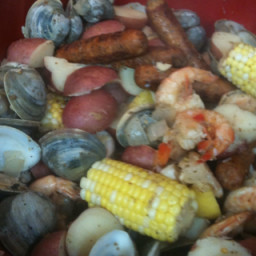 Shrimp/Sausage/Potato/Corn Boil