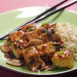 Sichuan-Style Tofu with Mushrooms