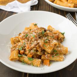 Sicilian lentil pasta