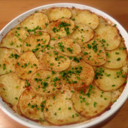 Side Dish - Three Cheese Grated Potato Pie