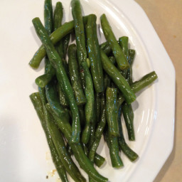 Simmered Green Beans