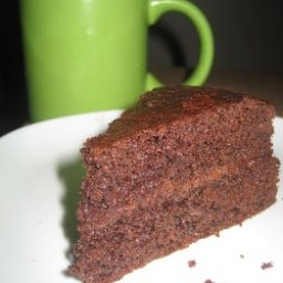 Simon's Chocolate Sponge Cake & Chocolate Buttercream Filling