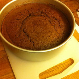 Simple Chocolate Sponge Cake