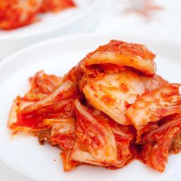 Simple Kimchi: Cut-Up Kimchi (막김치)