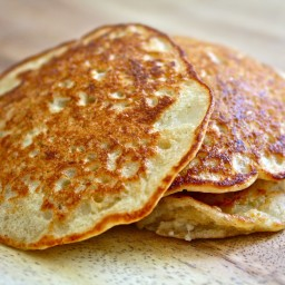 Simple Oatmeal Pancakes