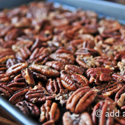Simple Roasted Pecan Halves Recipe