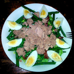 Savory Tuna & Anchovy Salad