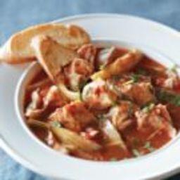 Simple Fish Bouillabaisse